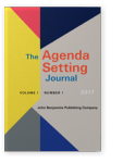 The Agenda Setting Journal: Theory, Practice, Critique