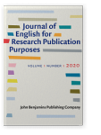 Journal of English for Research Publication Purposes