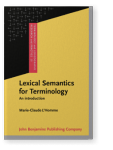 Lexical Semantics for Terminology. An introduction