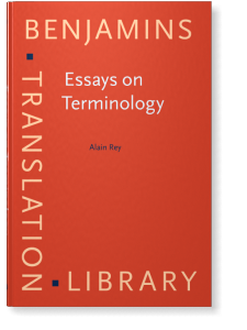 9 benjamins essay library terminology translation Essays on key authors: for some of the more important authors in the oll collection we have gathered material by them or about them in order to make it easier to find out more about their life and work these authors include james buchanan, fa hayek, ludwig von mises, frédéric bastiat, and adam smith.