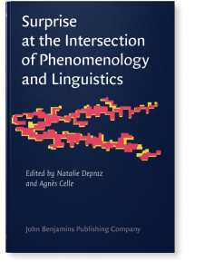 Surprise at the Intersection of Phenomenology and Linguistics Book Cover