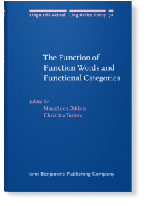 the function of function words and functional categories edited by