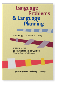 Language Problems and Language Planning