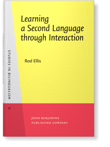 Learning a Second Language through Interaction | Rod Ellis