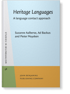 Heritage Languages: A language contact approach | Suzanne