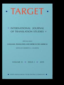 Target  International Journal of Translation Studies