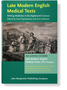 Late Modern English Medical Texts: Writing medicine in the