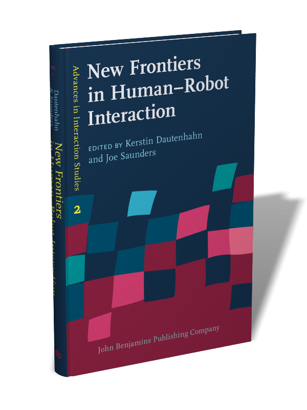 New Frontiers in Human–Robot Interaction | Edited by Kerstin