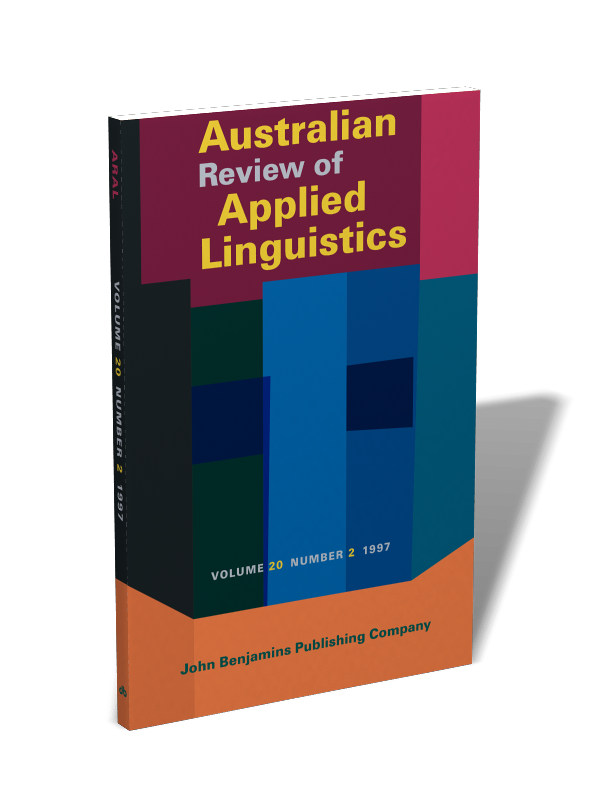thesis of applied linguistics Program requirements for applied linguistics (applied linguistics) once students complete the thesis proposal, they enroll in applied linguistics 598.