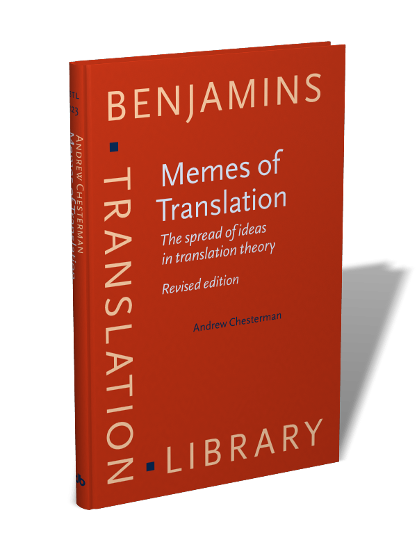 Memes Of Translation The Spread Ideas In Theory Revised Edition