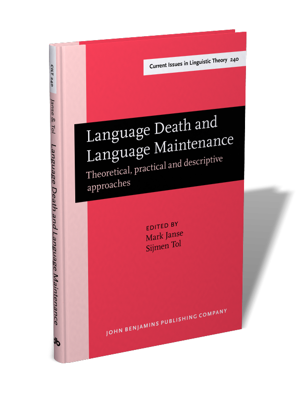 Language Death And Language Maintenance Theoretical Practical And Descriptive Approaches Edited By Mark Janse And Sijmen Tol