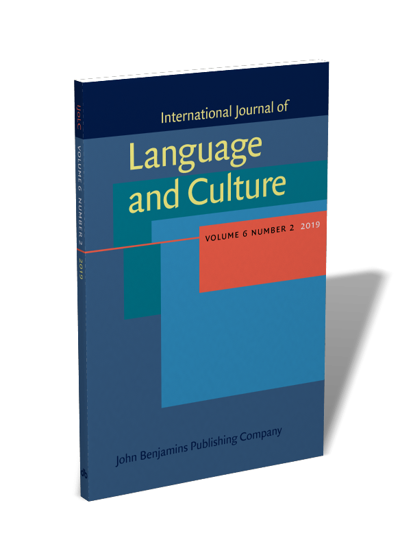 International Journal of Language and Culture