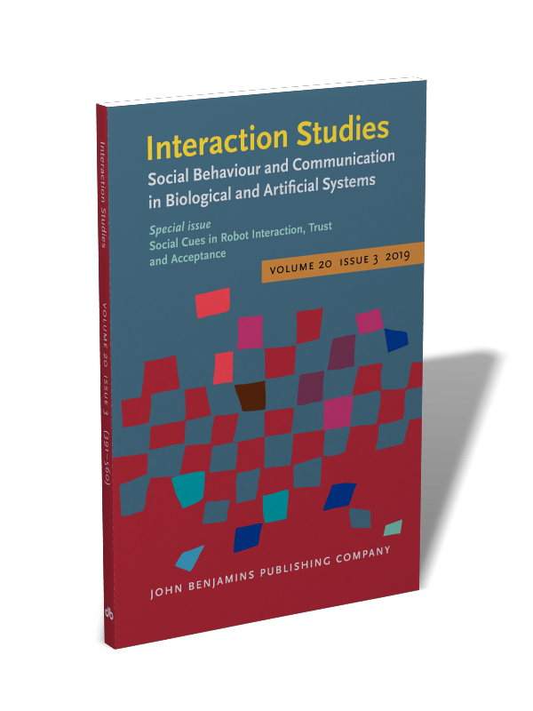 Interaction Studies  Social Behaviour and Communication in