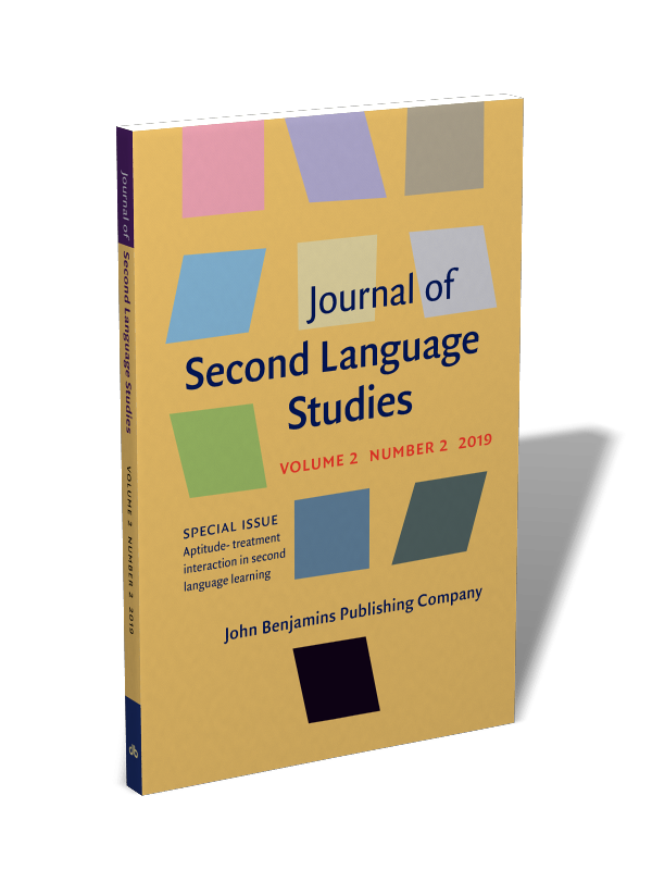 Ssci Journal List 2020.Journal Of Second Language Studies