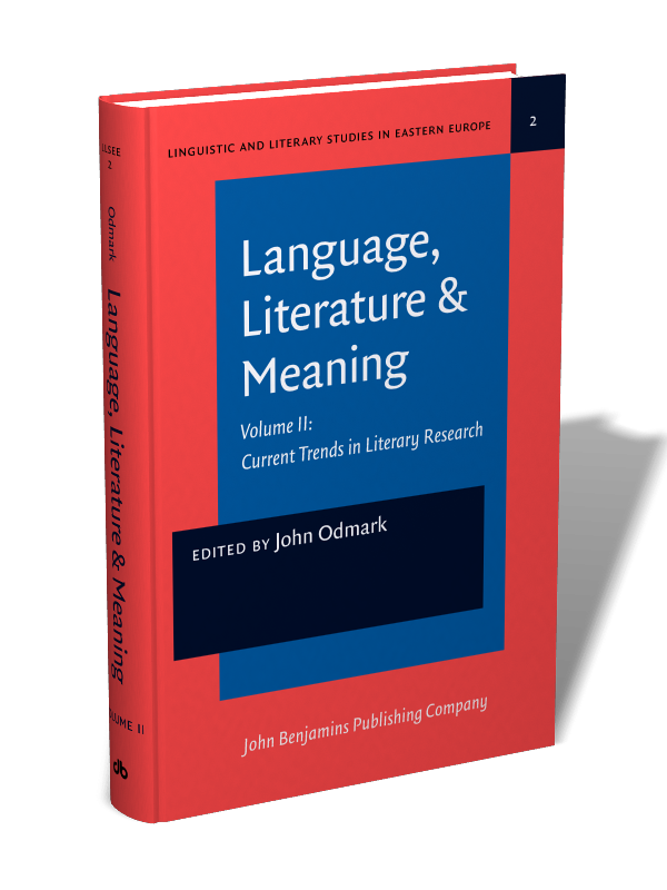 Language Literature Meaning Volume Ii Current Trends In