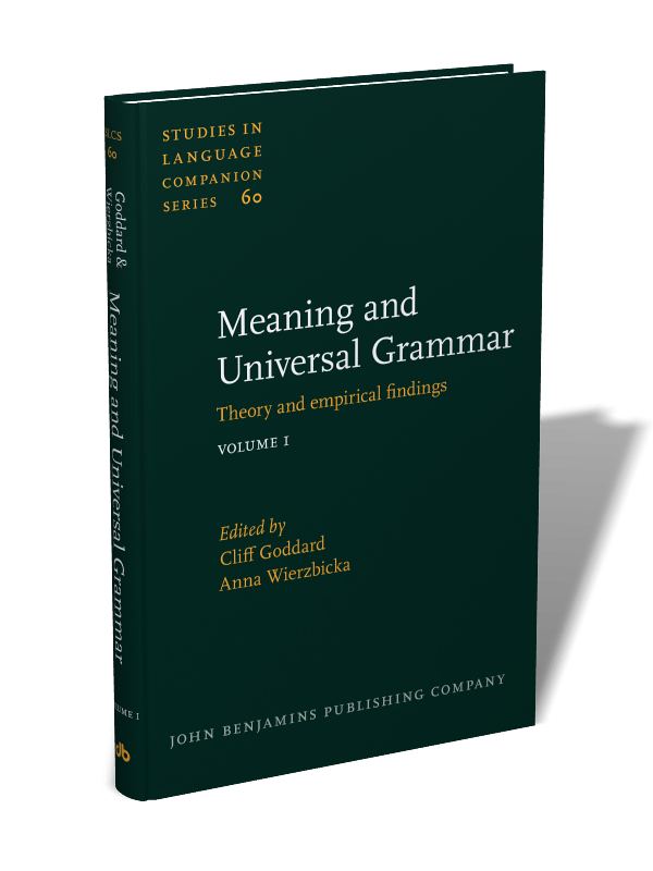Meaning and Universal Grammar: Theory and empirical findings