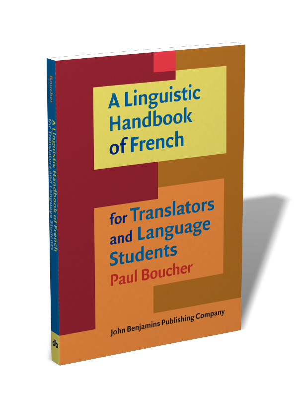 A Linguistic Handbook Of French For Translators And Language