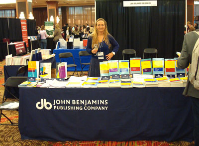 Seline Benjamins at AAAL conference 2013