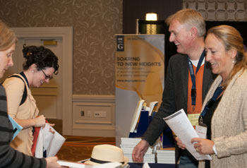 Seline Benjamins and Eric Burgstede at 2012 AAAL conference