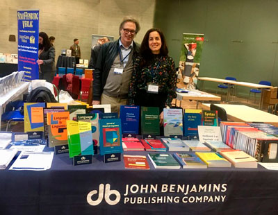 Kees Vaes and Esther Roth at DGfS conference 2018