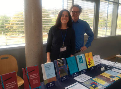 Esther Roth and Kees Vaes at DGKL conference 2018
