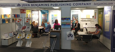Our stand at the Frankfurter Buchmesse 2018