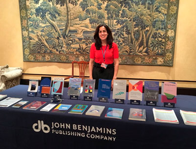 Esther Roth at ISGS conference 2018