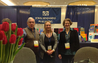 Paul Peranteau, Seline Benjamins and Anke de Looper at LSA, 2-5 January, Minneapolis