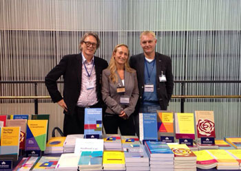 Kees Vaes, Seline Benjamins and Eric Burgstede at Sociolinguistic Symposium 20 2014